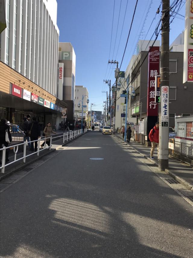鈴岡銀行の先になります。